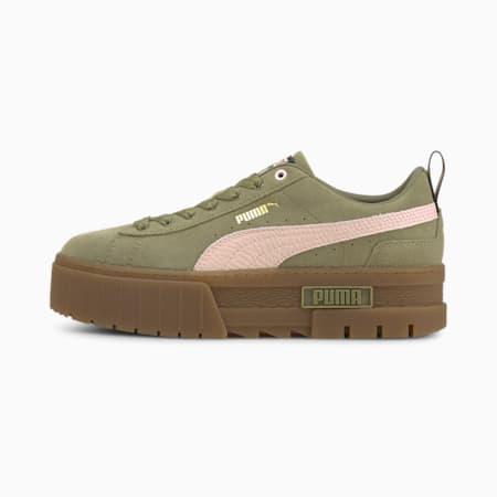 Zapatos deportivos Mayze Gum para mujer, Covert Green, pequeño
