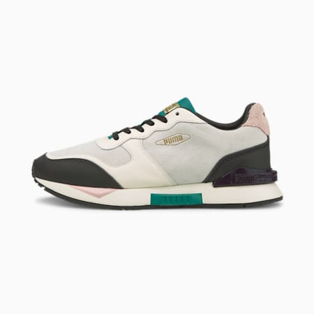 Mirage Clean PRM Women's Trainers, Puma White-Parasailing, small