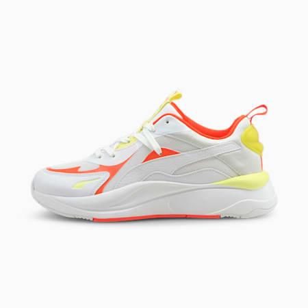 Zapatillas para mujer RS-Curve Core, Puma White-Lava Blast, small