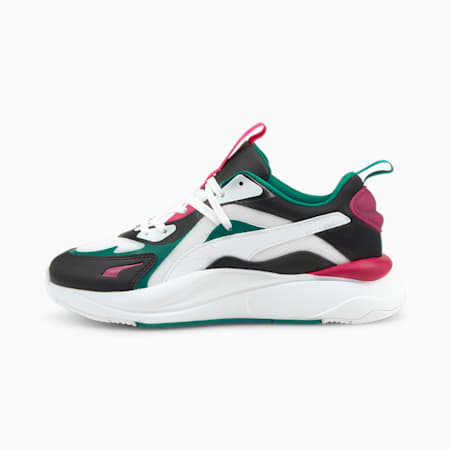 RS-Curve Core Damen Sneaker, Puma White-Parasailing, small