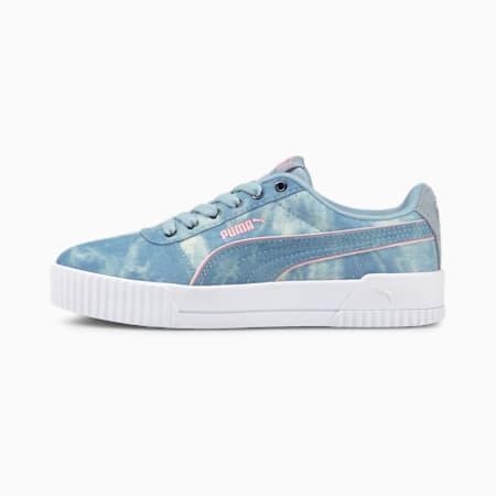 Carina Indigo Women's Sneakers, Blue Fog-Blue Fog-Peony, small-IND