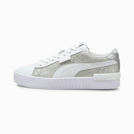 Jada Snake Premium Women's Sneakers, Puma Silver-Puma White, small-IND