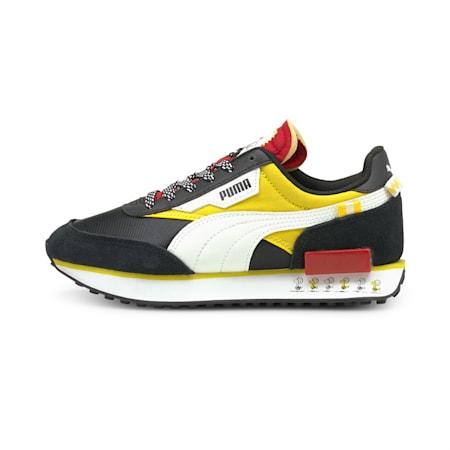 Zapatos deportivos PUMA x PEANUTS Future Rider JR, Puma Black-Maize, pequeño