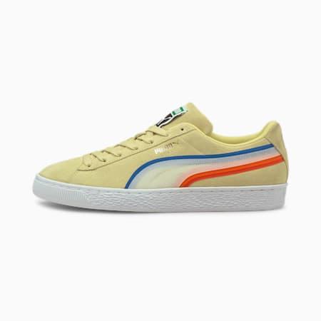 Zapatos deportivos Suede Triplex Tech, Yellow Pear-Puma White, pequeño