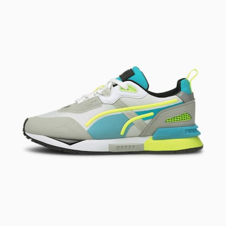 Mirage Tech Youth Trainers, Gray Violet-Puma White, small