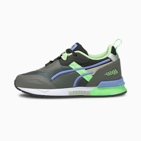 Mirage Tech Kinder Sneaker, CASTLEROCK-Elektro Green, small