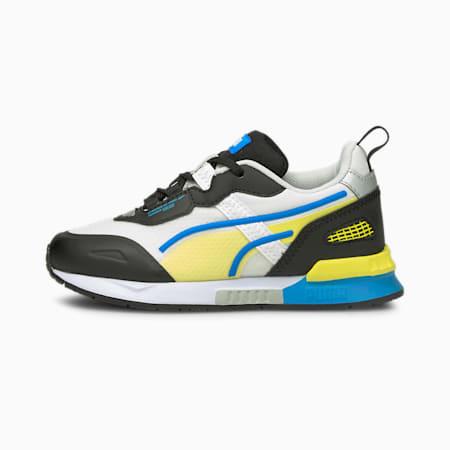 Zapatos Mirage Techpara niños pequeños, Puma White-Puma Black, pequeño