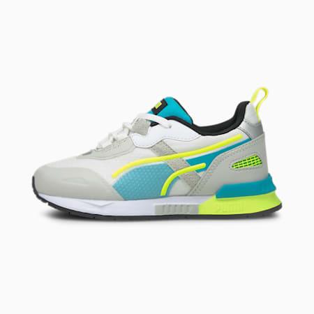 Dziecięce buty sportowe Mirage Tech, Gray Violet-Puma White, small