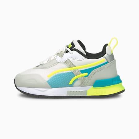 Niemowlęce buty sportowe Mirage Tech, Gray Violet-Puma White, small