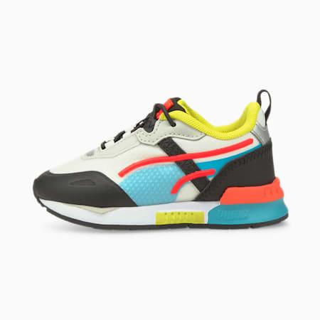 Niemowlęce buty sportowe Mirage Tech, White-Scuba Blue-Puma Black, small