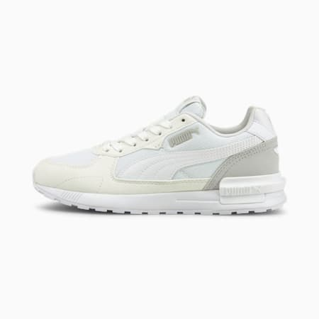 Graviton Youth Trainers, Puma White-Gray Violet, small-GBR
