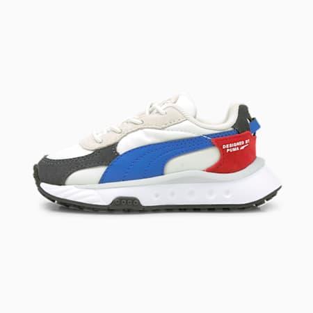Niemowlęce buty sportowe Wild Rider Rollin', Ebony-Puma White, small