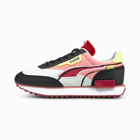 Zapatos deportivos Future Rider TwofoldJR, Puma White-Puma Black-Persian Red, pequeño