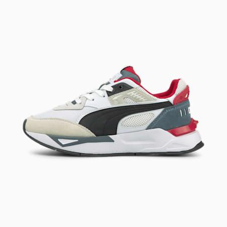 Zapatos deportivos Mirage Sport Remix JR, Puma White-Puma Black, pequeño