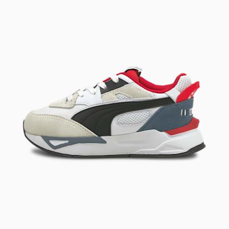Zapatos deportivos Mirage Sport Remix para niño pequeño, Puma White-Puma Black, pequeño