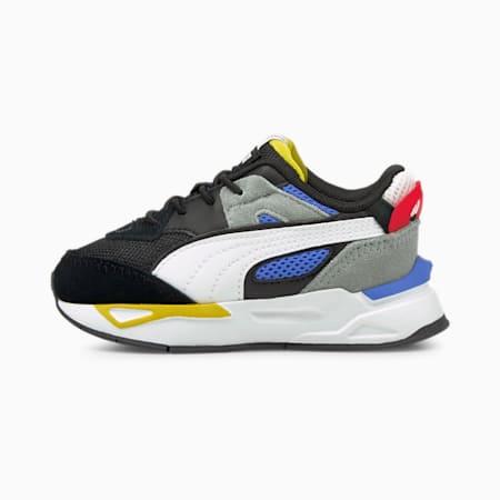 Zapatos deportivos Mirage Sport Remix AC para bebé, Puma Black-Puma White, pequeño
