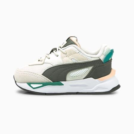 Zapatos deportivos Mirage Sport Remix AC para bebé, Puma White-Dark Shadow, pequeño