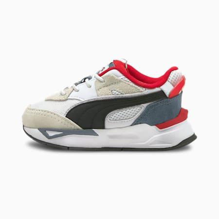 Zapatos deportivos Mirage Sport Remix AC para bebé, Puma White-Puma Black, pequeño