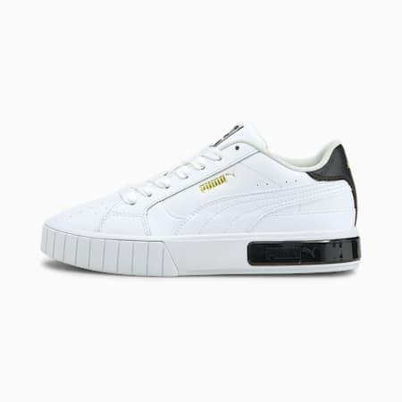 Zapatos deportivos Cali Star JR, Puma White-Puma Black, pequeño
