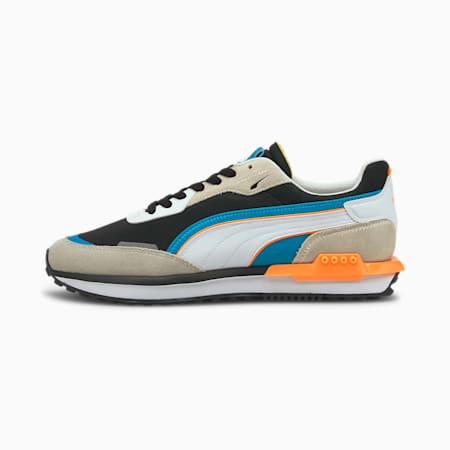 City Rider Unisex Sneakers, Vaporous Gray-Puma Black, small-IND