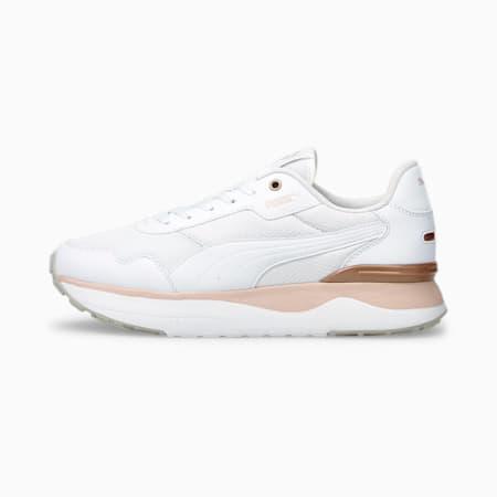 Zapatos deportivos R78 Voyage JR, Puma White-Puma White-Lotus, pequeño