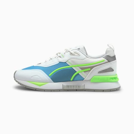 Zapatos deportivos Mirage Tech Metallic, Puma White-Puma Silver, pequeño