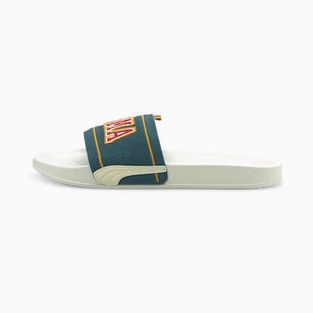 Leadcat FTR Suede P.Uni Unisex Slides, Marshmallow-Intense Blue, small-IND
