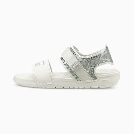 Softride Snake Women's Sandals, Nimbus Cloud-Puma Silver, small-IND