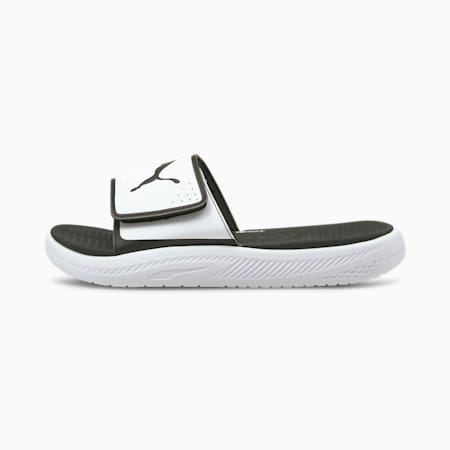 Softride Men's Slides, Puma White-Puma Black, small-SEA