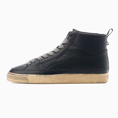 Zapatos deportivos de media caña PUMA x RHUIGI Suedepara hombre, Puma Black, pequeño