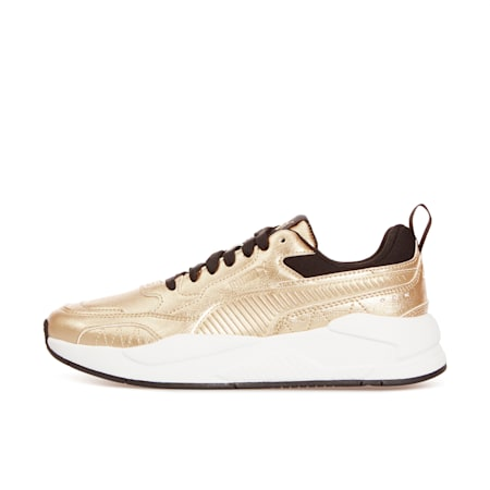 X-Ray² Square Metallic Trainers, Gold-Gold-Black-Puma White, small-GBR
