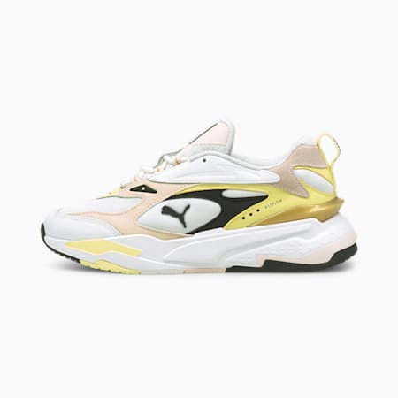 RS-Fast Mix Gold  Unisex Shoes, Puma White-Pearl-Puma Black, small-IND