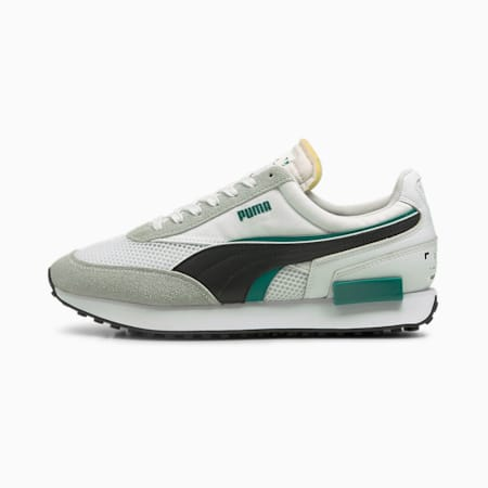 Future Rider Double RE.GEN Men's Sneakers, Puma White-Puma Black, small