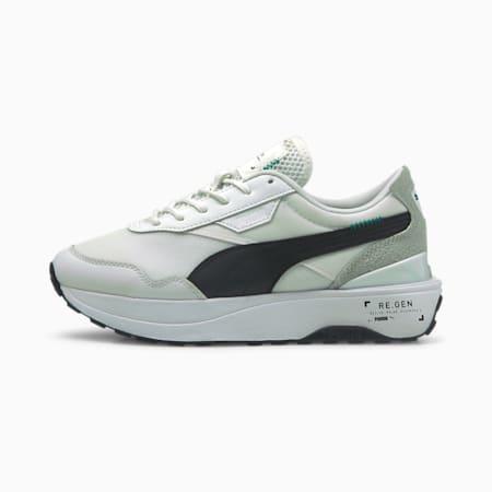Cruise Rider RE.GEN Women's Sneakers, Puma White-Puma Black, small-GBR