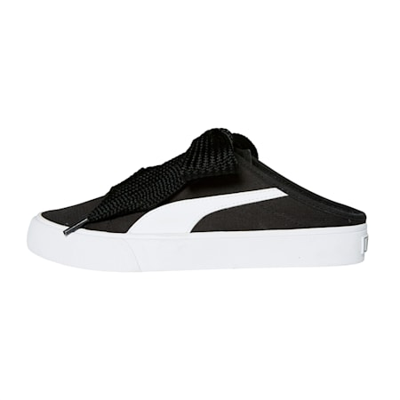 바리 뮬 리본/Bari Mule Ribbon Wn's, Puma Black-Puma White-Puma Black, small-KOR