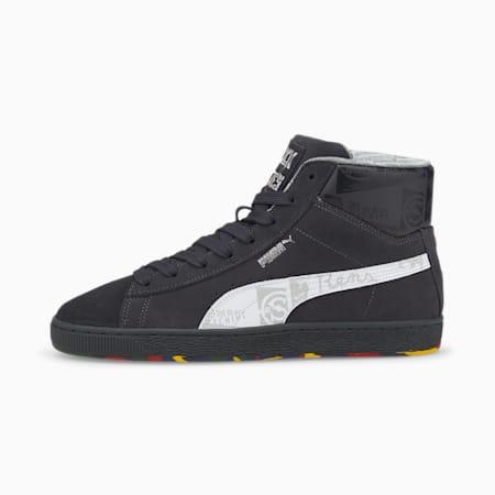 PUMA x BLACK FIVES Sneaker aus Veloursleder für Herren, Phantom Black-Puma White, small