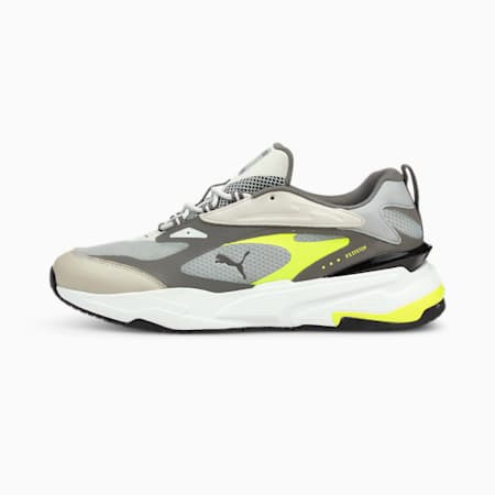 RS-Fast Neon Trainers, Quarry-CA.ROCK-Yellow Alert, small