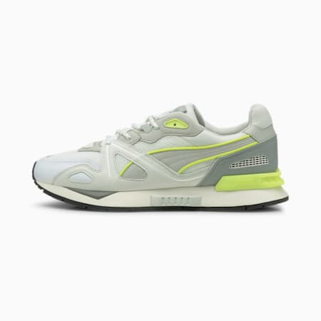 Mirage Mox Neon Trainers, White-Gray Violet-Y.Alert, small