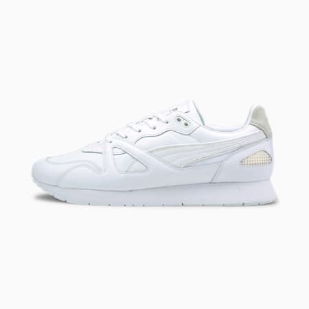 Mirage Original Suit Trainers, Puma White- White-Team Gold, small-GBR