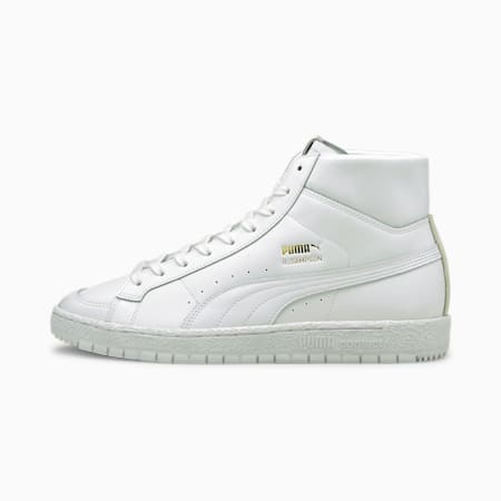 Ralph Sampson 70 Mid Suit Trainers, Puma White, small