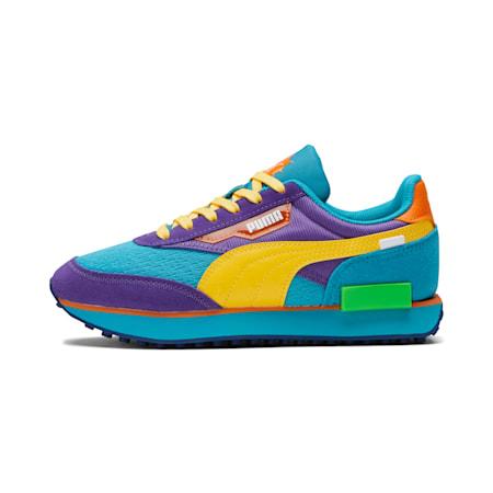 Zapatos deportivosPUMA x RUGRATS Future RiderJR, Caribbean Sea-ULTRA YELLOW, pequeño