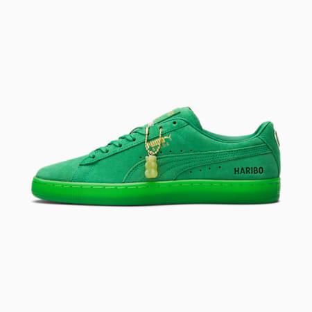 Zapatos deportivos PUMA x HARIBO Suede para hombre, Amazon Green-Amazon Green, pequeño