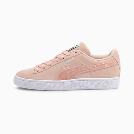 Zapatos deportivos Suede Iri Wild para mujer, Lotus-Puma White, pequeño