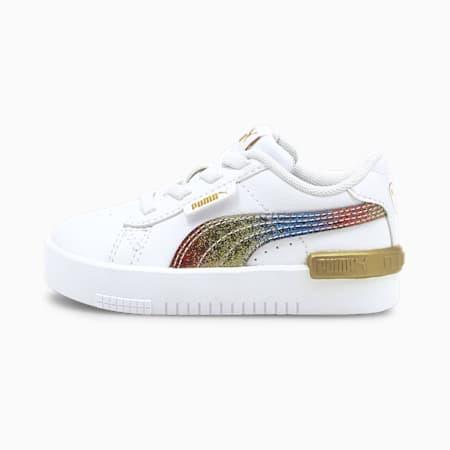 Zapatos Jada para bebés, Puma White-Puma Team Gold, pequeño