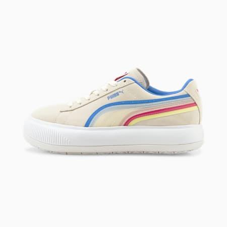 Suede Mayu Triplex Tech Women's Sneakers, Marshmallow-Puma White-Bluemazing, small-IND