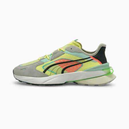 Zapatos deportivos PWRFRAME OP-1 Abstract para hombre, SOFT FLUO YELLOW-Quarry-Marshmallow, pequeño