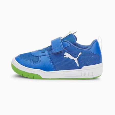 PUMA Mutliflex Sport Kid's Shoes, Nebulas Blue-Puma White, small-IND