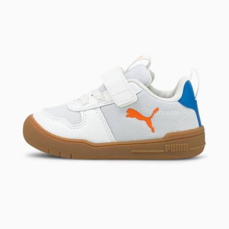 Multiflex SPORT AC sneakers baby's, Puma White-Vibrant Orange, small