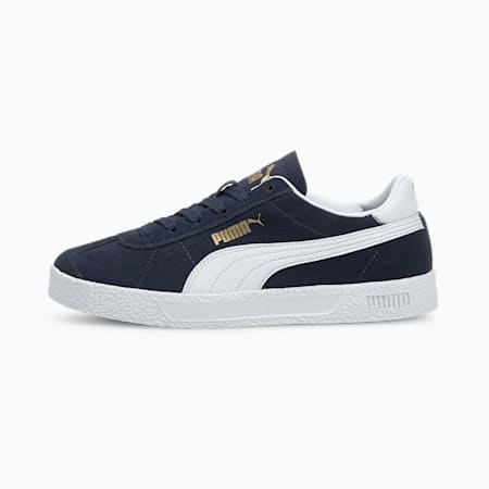 Club Youth Trainers, Peacoat-Puma White-Gold, small-GBR