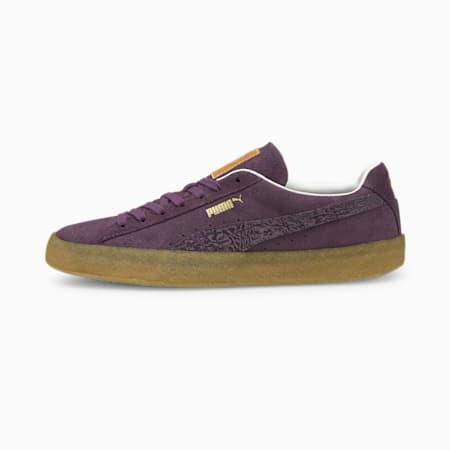 Zapatos deportivos Suede Crepe SC, Sweet Grape-Plum Purple-Puma White, pequeño